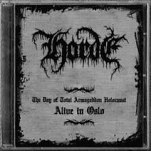 Horde - Alive in Oslo cover art
