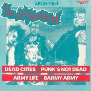 The Exploited - Archive4 cover art