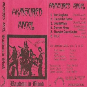 Armoured Angel - Baptism in Blood cover art