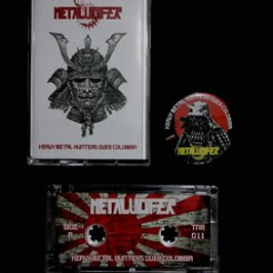 Metalucifer - Heavy Metal Hunters Over Colombia cover art