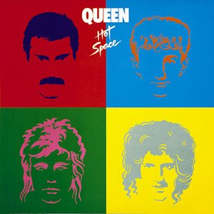 Queen - Hot Space cover art