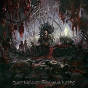 Putridity - Degenerating Anthropophagical Euphoria cover art
