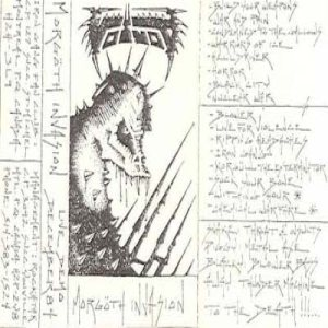 Voivod - Morgoth Invasion cover art