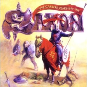 Saxon - The Carrere Years 1979-1984 cover art