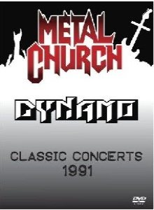Metal Church - Dynamo Classic Concerts 1991 cover art