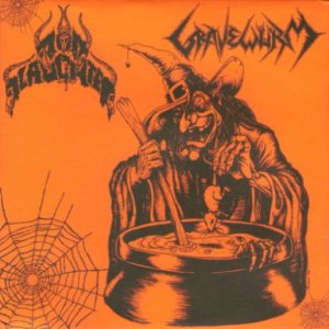Gravewürm / Nunslaughter - Gravewürm / Nunslaughter cover art