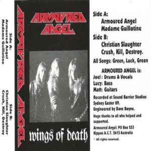 Armoured Angel - Wings of Death cover art