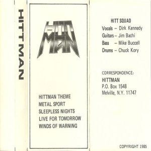 Hittman - Metal Sport cover art