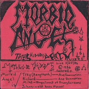 Morbid Angel - Total Hideous Death cover art