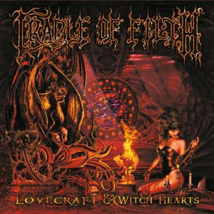 Cradle of Filth - Lovecraft & Witch Hearts cover art