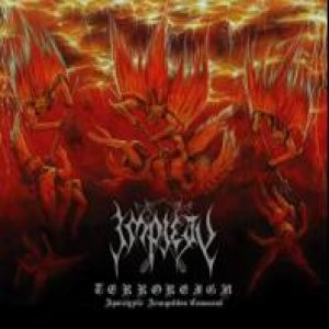 Impiety - Terroreign (Apocalyptic Armageddon Command) cover art