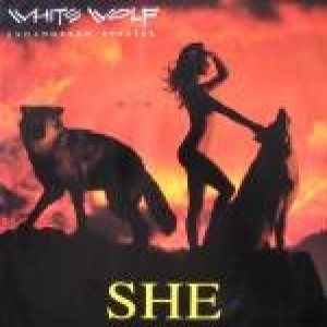 White Wolf - She cover art