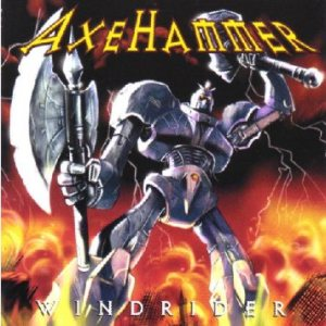Axehammer - Windrider cover art