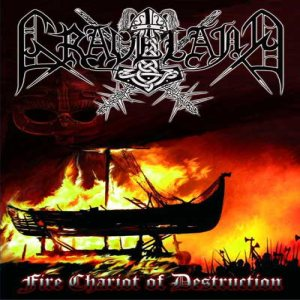 Graveland - Fire Chariot of Destruction cover art