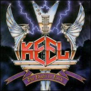 Keel - The Right to Rock cover art