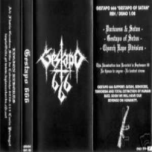 Gestapo 666 - Gestapo of Satan cover art
