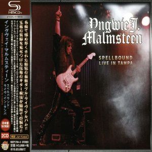 Yngwie Malmsteen - Spellbound : Live in Tampa cover art
