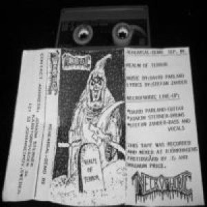 Necrophobic - Rehearsal-Demo '89 cover art