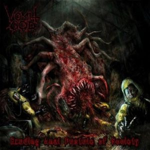 Vomit God - Exuding Anal Pustule of Society cover art