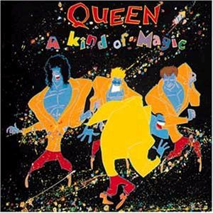 Queen - A Kind of Magic cover art