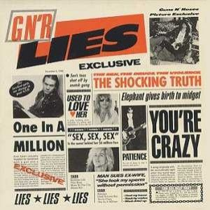 Guns N' Roses - G N' R Lies cover art