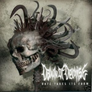 Dawn Of Demise - Hate Takes Its Form cover art