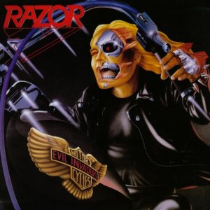 Razor - Evil Invaders cover art