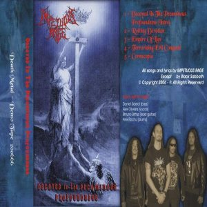 Impetuous Rage - Decayed in the Pecaminous Profoundness cover art