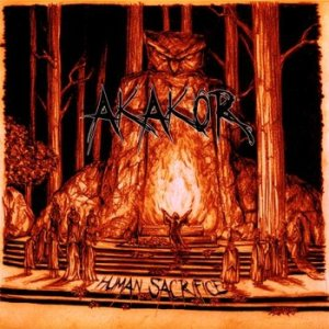 Akakor - Human Sacrifice cover art