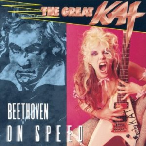 The Great Kat - Beethoven on Speed cover art