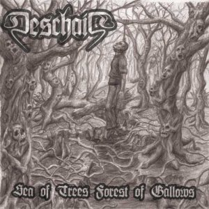 Deschain - Sea of Trees Forest of Gallows cover art