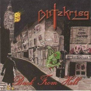 Blitzkrieg - Back from Hell cover art
