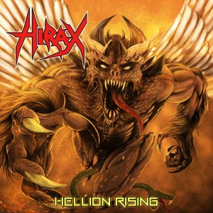 Hirax - Hellion Rising cover art