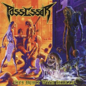 Possessor - City Built with Skulls cover art