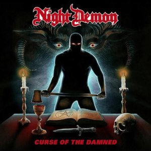 Night Demon - Curse of the Damned cover art