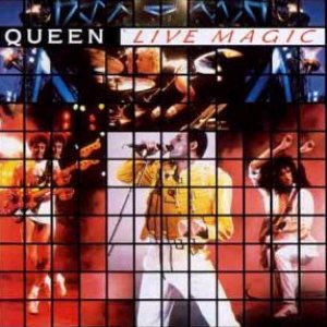 Queen - Live Magic cover art