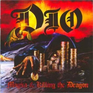 Dio - Magica & Killing the Dragon cover art