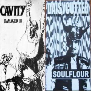 Cavity - Damaged III / Soulflour cover art