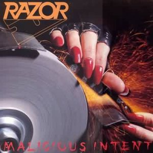 Razor - Malicious Intent cover art