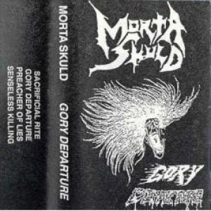 Morta Skuld - Gory Departure cover art
