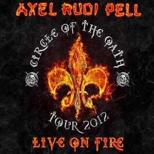 Axel Rudi Pell - Live on Fire cover art