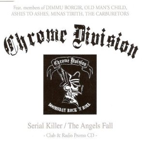 Chrome Division - Serial Killer / the Angels Fall cover art