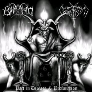 Bahimiron / Teratism - Pact in Dizease & Profanation cover art