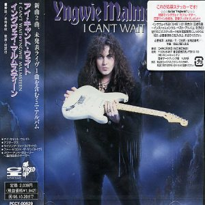 Yngwie Malmsteen - I Can't Wait cover art