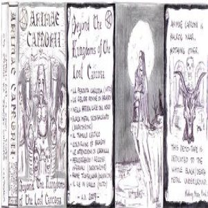 Animae Capronii - Beyond the kingdom of the lost carcosa cover art