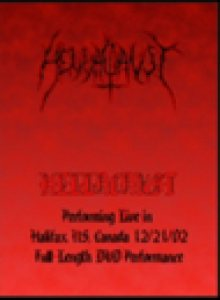 Hellacaust - Live in Halifax cover art