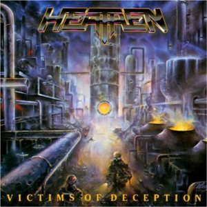 Heathen - Victims of Deception cover art