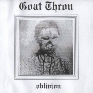 Goat Thron - Oblivion cover art