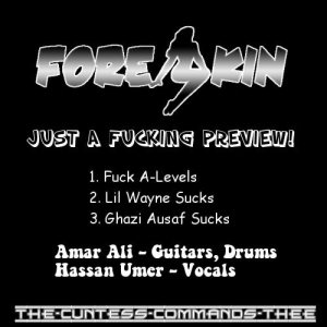 Foreskin - Just a Fucking Preview! cover art