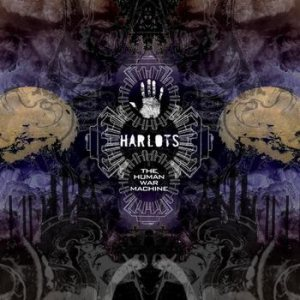 Harlots - The Human War Machine cover art